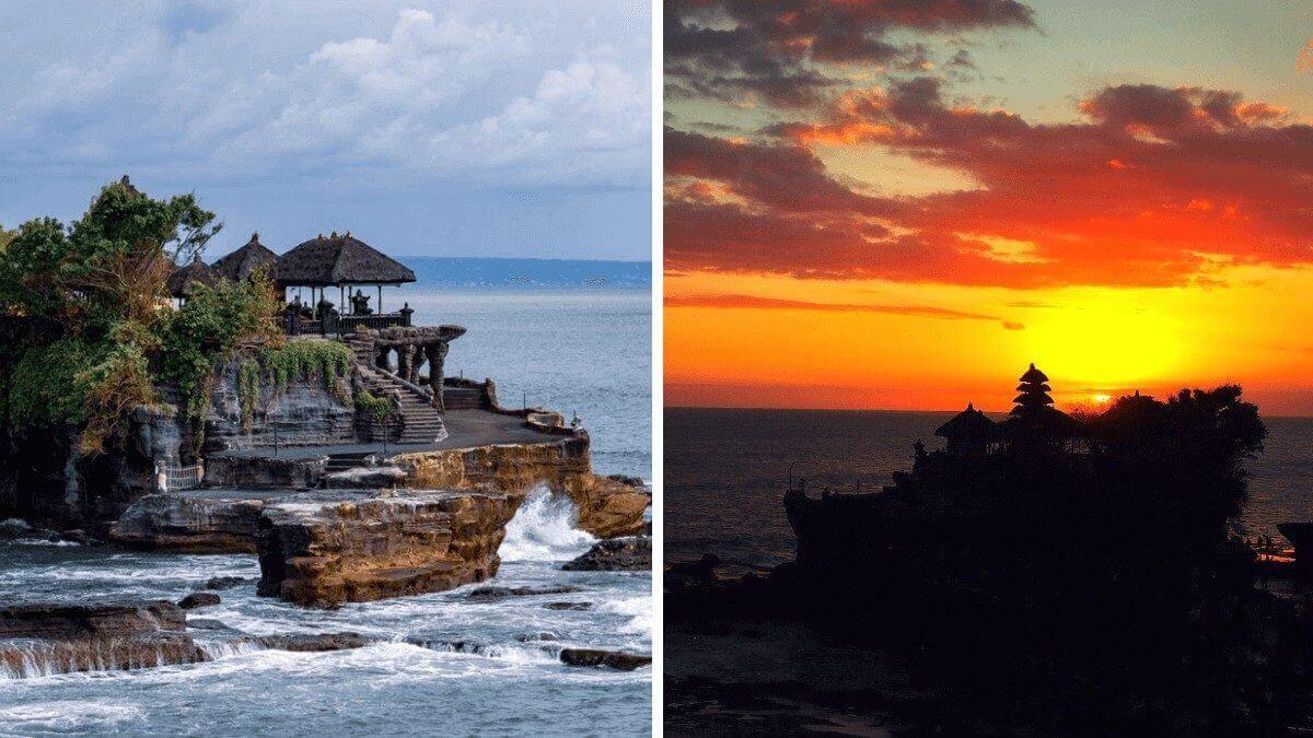 Tanah Lot – świątynia balijska na środku morza