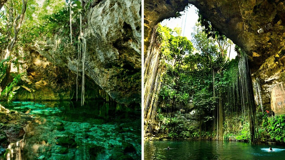Cenoty na Jukatanie – studnie kresowe, które TRZEBA zobaczyć będą w Meksyku