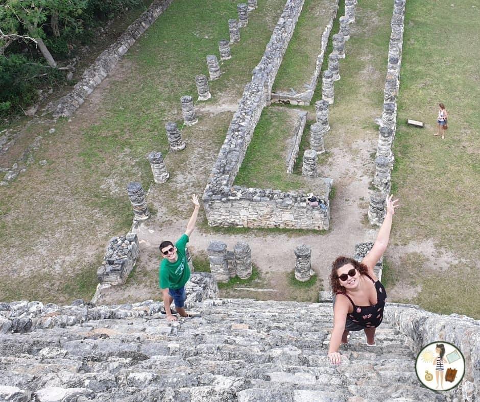 Piramidy Mayapan - Zakręcona Podróżniczka