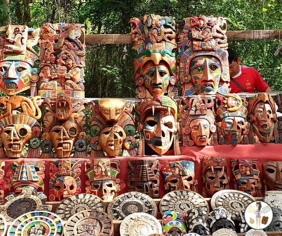 Meksyk - Maski - zakręcona podrozniczka